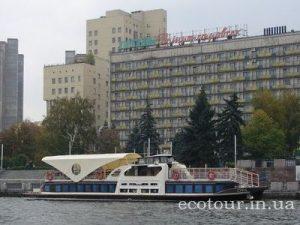 Прогулки на теплоходе в Днепропетровске
